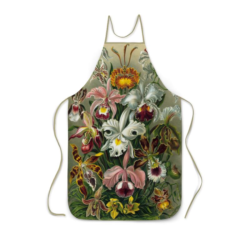 цена на Фартук с полной запечаткой Printio На 8 марта орхидеи