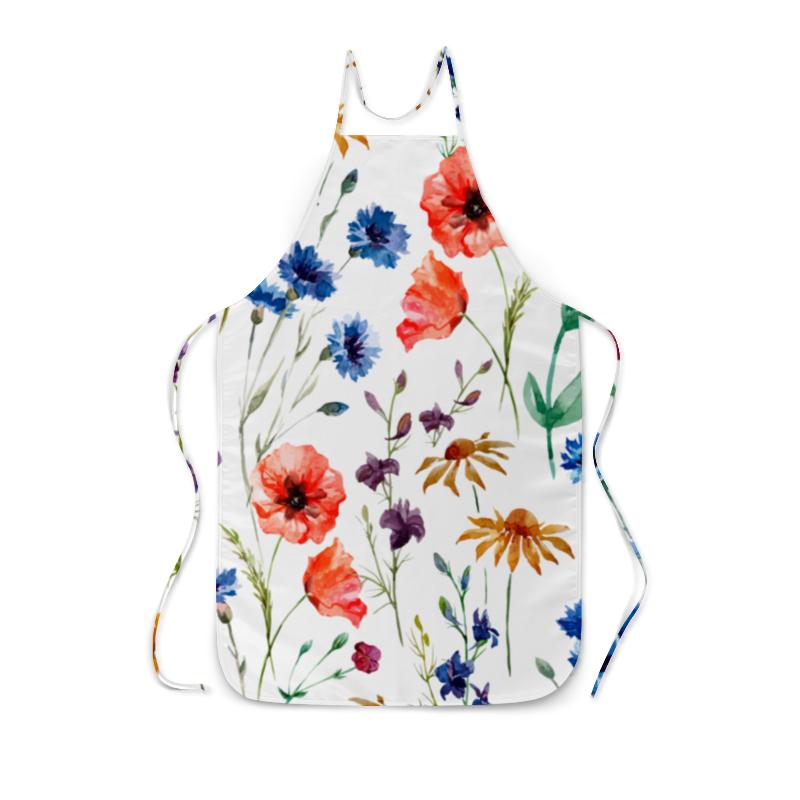 Фартук с полной запечаткой Printio Полевые цветы оцинкованный фартук на парапет