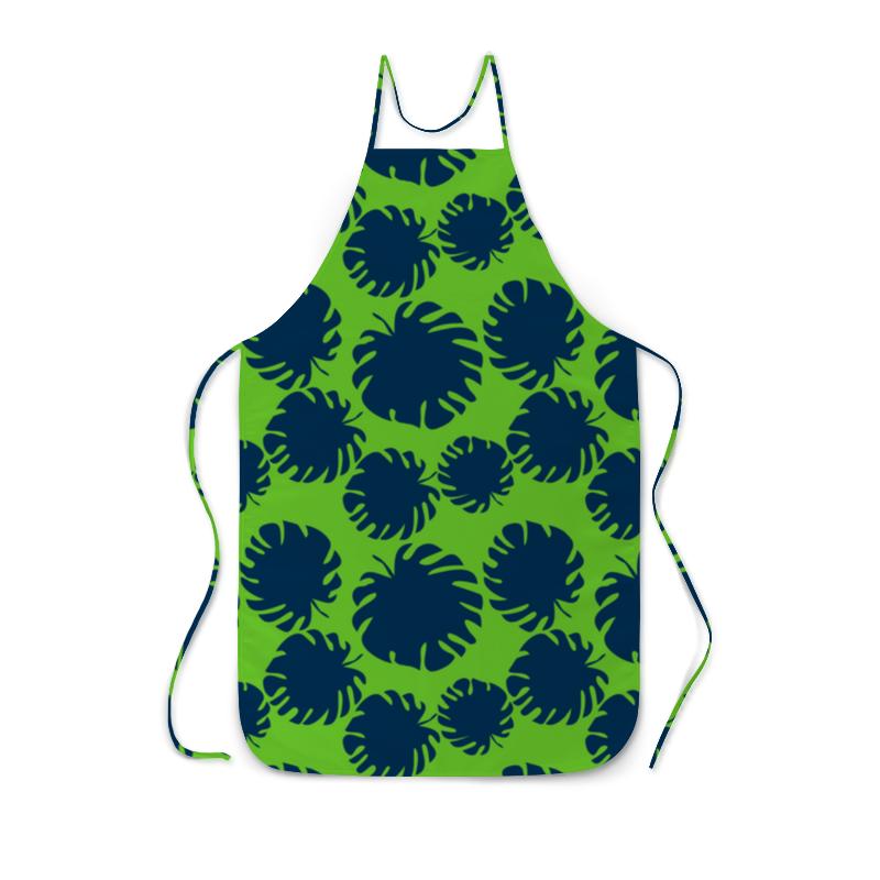 Фартук с полной запечаткой Printio Тропические листья фартук printio модная осьминожка