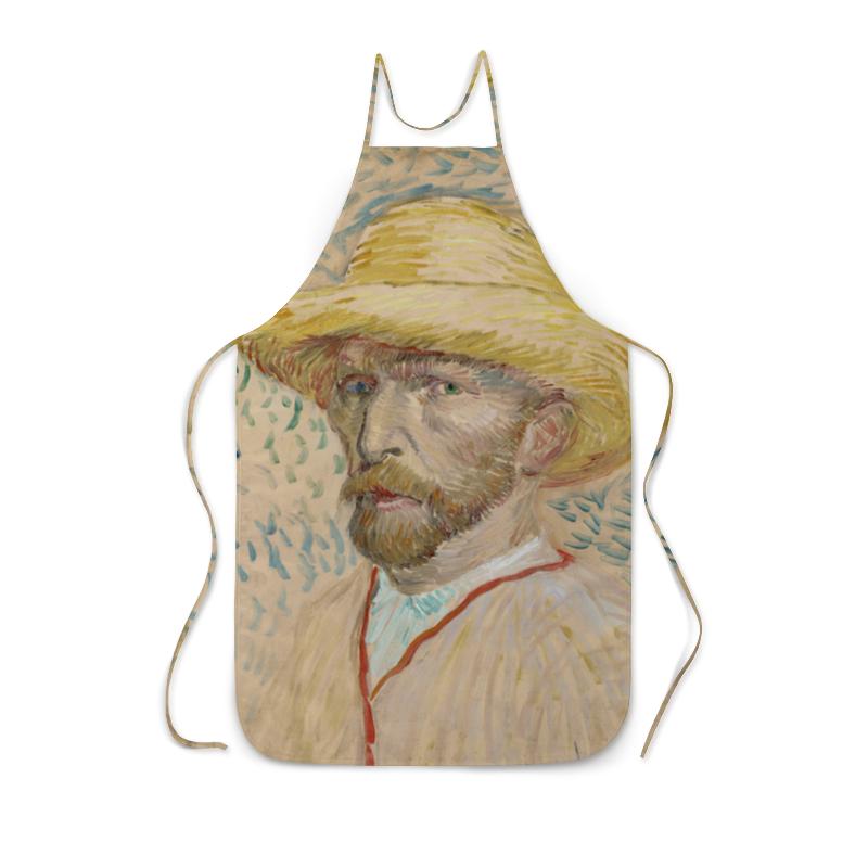 Фартук с полной запечаткой Printio Винсент ван гог (автопортрет) фартук с полной запечаткой printio ирисы винсент ван гог