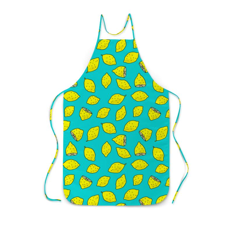 Фартук с полной запечаткой Printio Лимоны фартук с полной запечаткой printio домашняя кухня с полной запечаткой