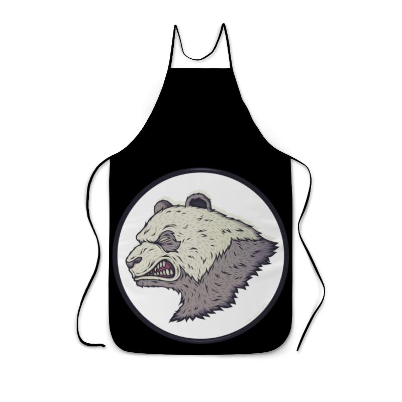 Фартук с полной запечаткой Printio Angry panda / злая панда