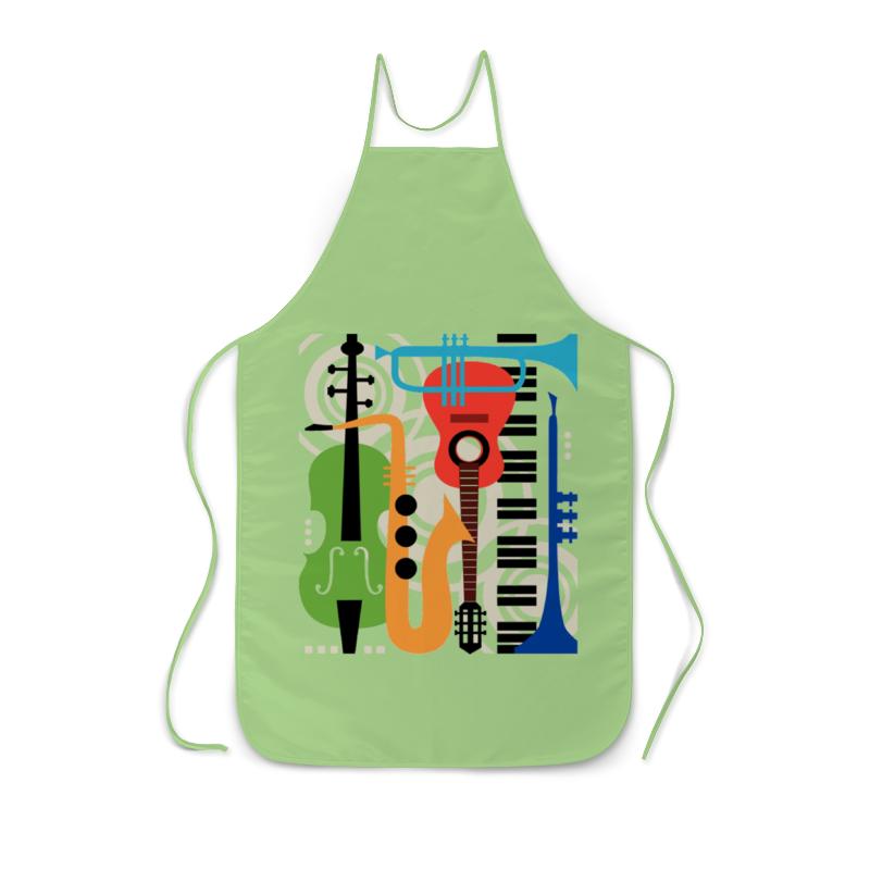 Фартук с полной запечаткой Printio Музыкальные инструменты волшебный мир музыки музыкальные инструменты набор репродукций картин