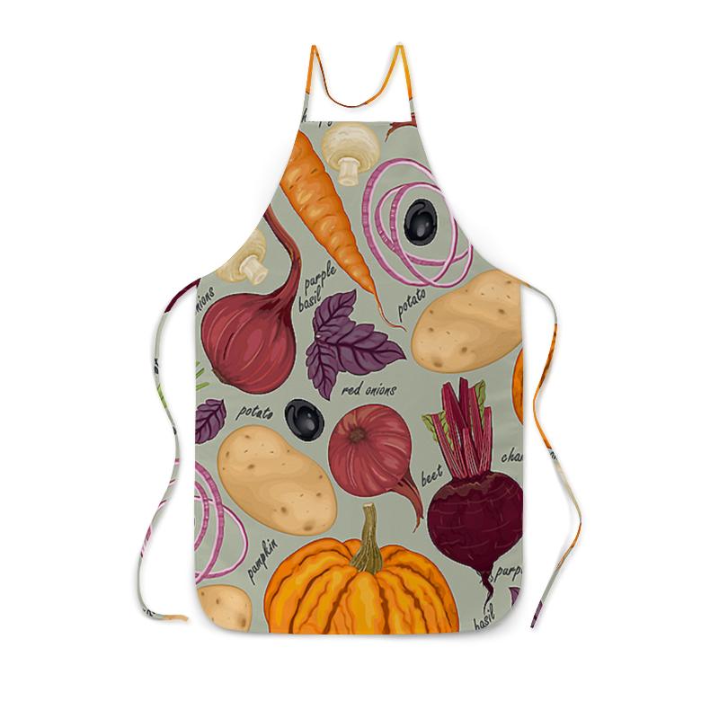 Фартук с полной запечаткой Printio Овощи оцинкованный фартук на парапет