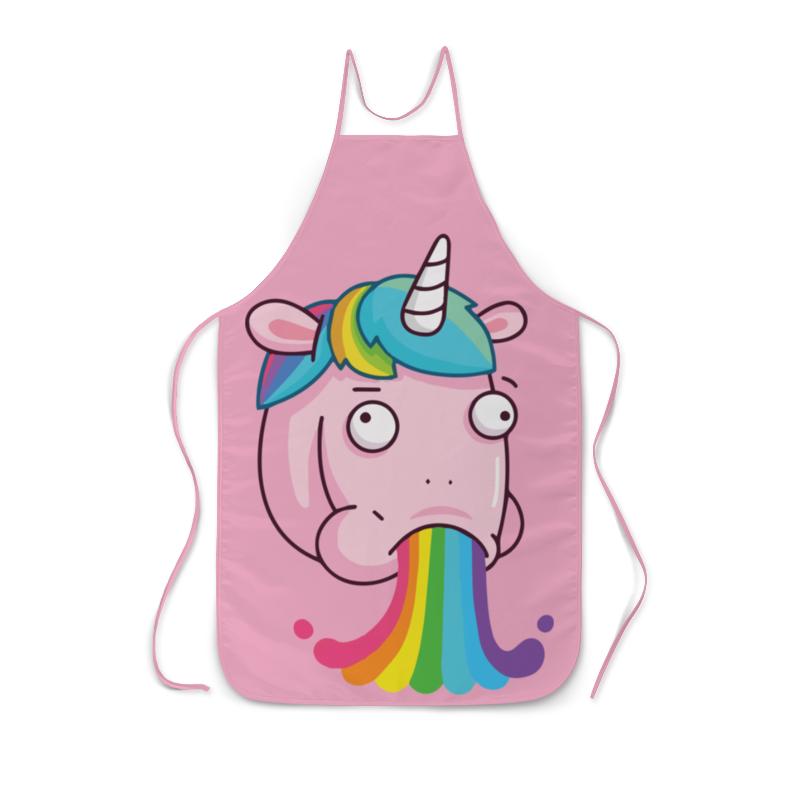 Фартук с полной запечаткой Printio Unicorn's rainbow / радуга единорога эрже приключения тинтина секрет единорога