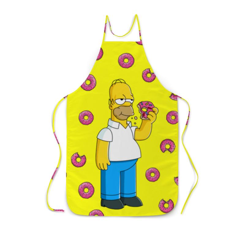 Фартук с полной запечаткой Printio Гомер и пончик суриков и е гомер
