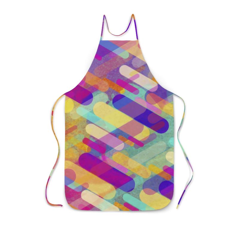 Фартук с полной запечаткой Printio Разноцветная абстракция