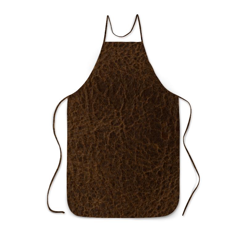 Фартук с полной запечаткой Printio Кожаная текстура кожаная юбка