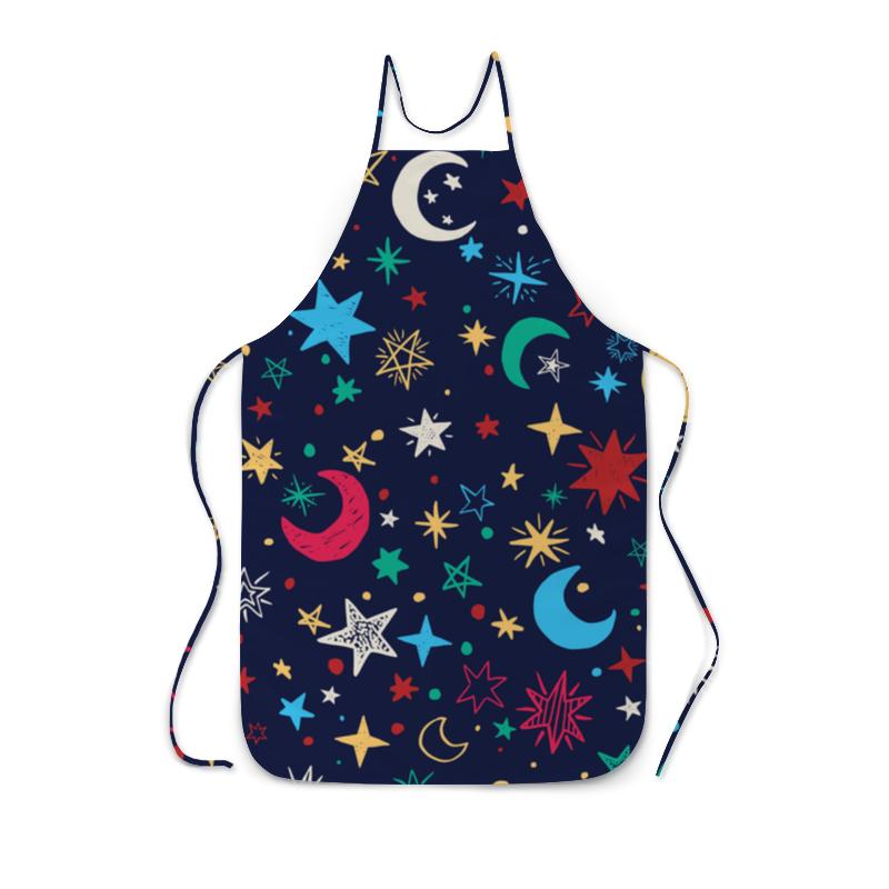 Фартук с полной запечаткой Printio Звёздное небо анатолий пушкарёв желудок мозг и звёздное небо