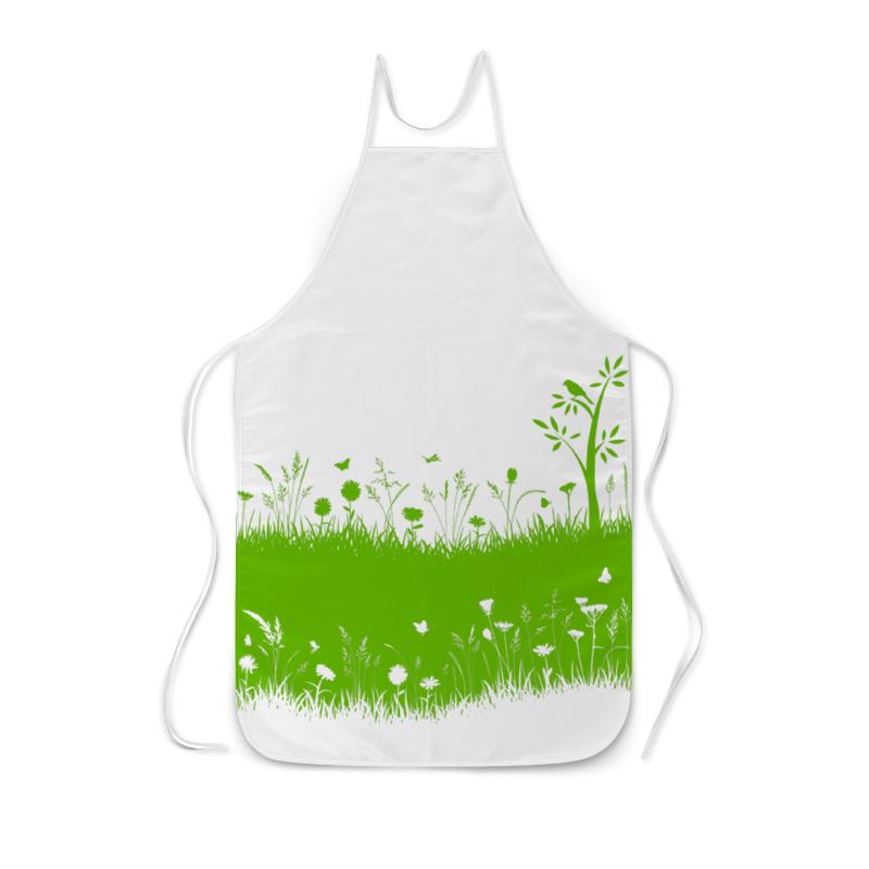 все цены на Фартук с полной запечаткой Printio Летняя трава онлайн