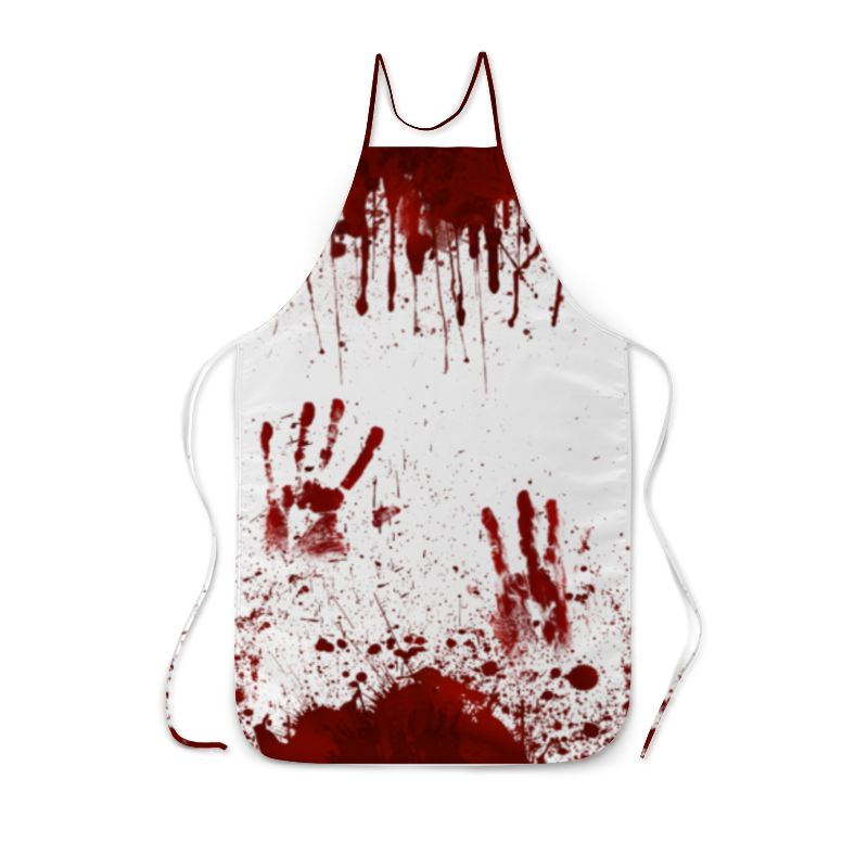 Фартук с полной запечаткой Printio Кровь