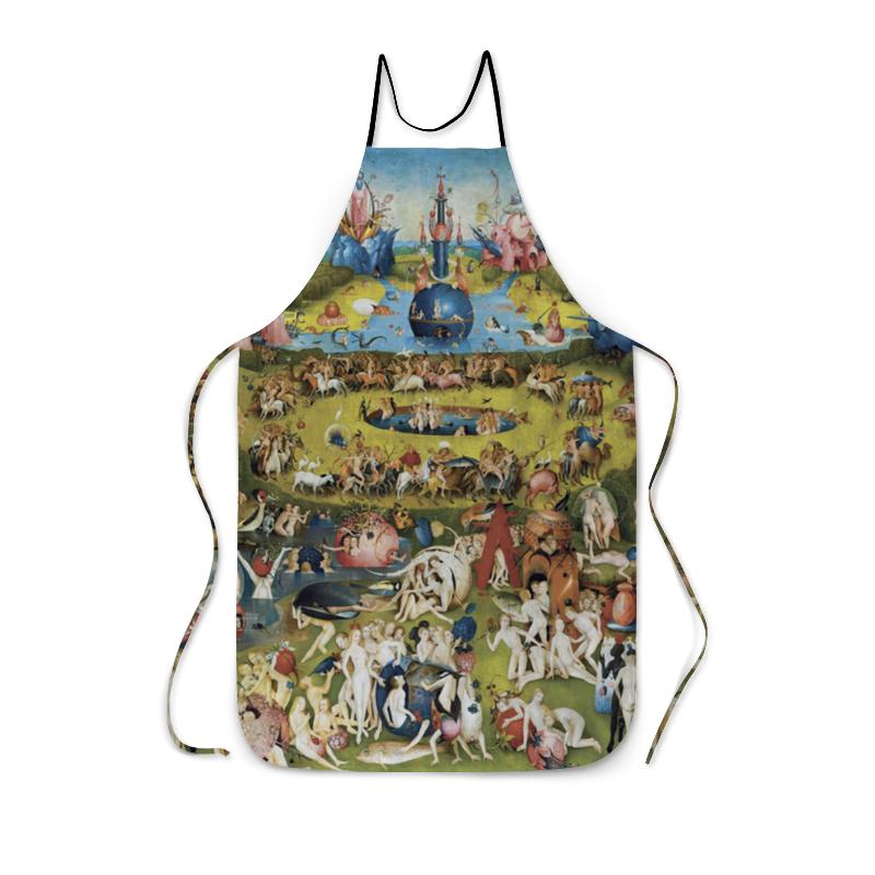 Фартук с полной запечаткой Printio Сад земных наслаждений юбка в складку printio сад земных наслаждений