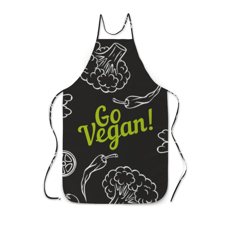 все цены на Фартук с полной запечаткой Printio Go vegan!
