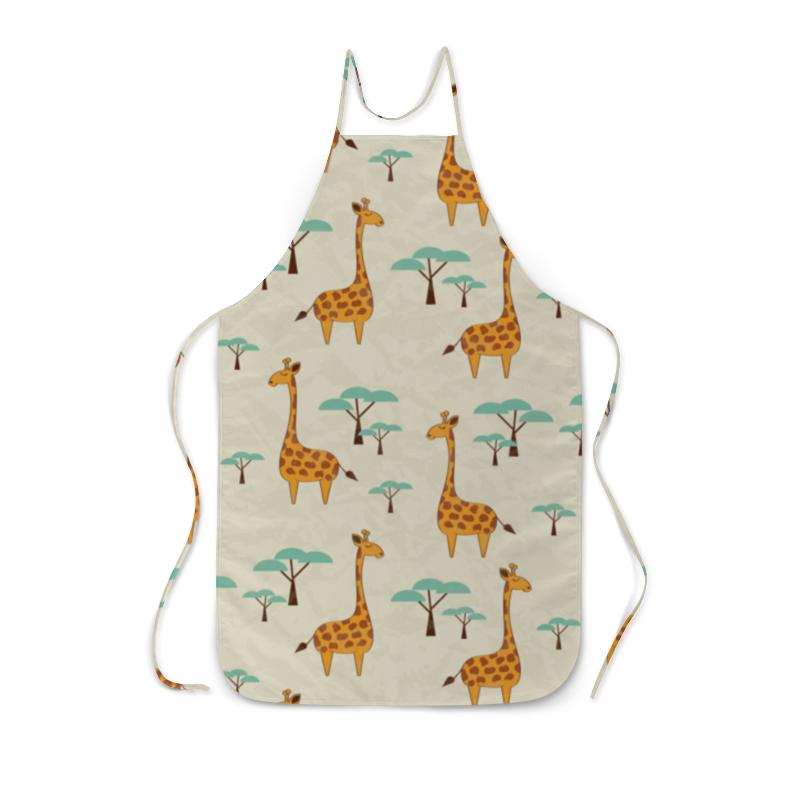 Фартук с полной запечаткой Printio Жирафы lori фоторамки из гипса жирафы