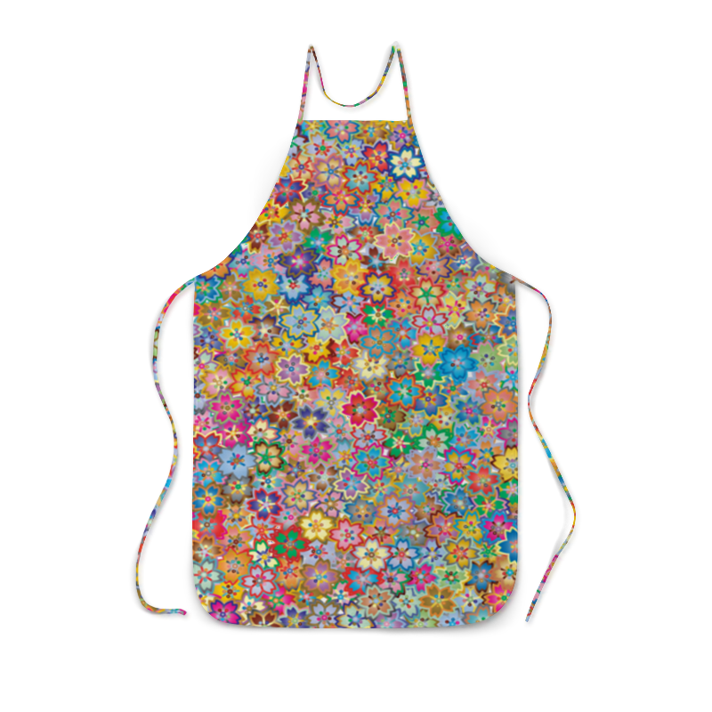 Printio Цветочный букет. фартук с полной запечаткой printio цветочная сказка