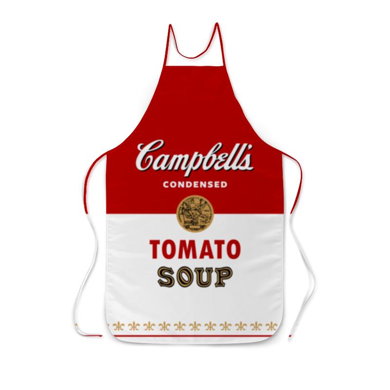 Фартук с полной запечаткой Printio Суп кэмпбелл суп том кха