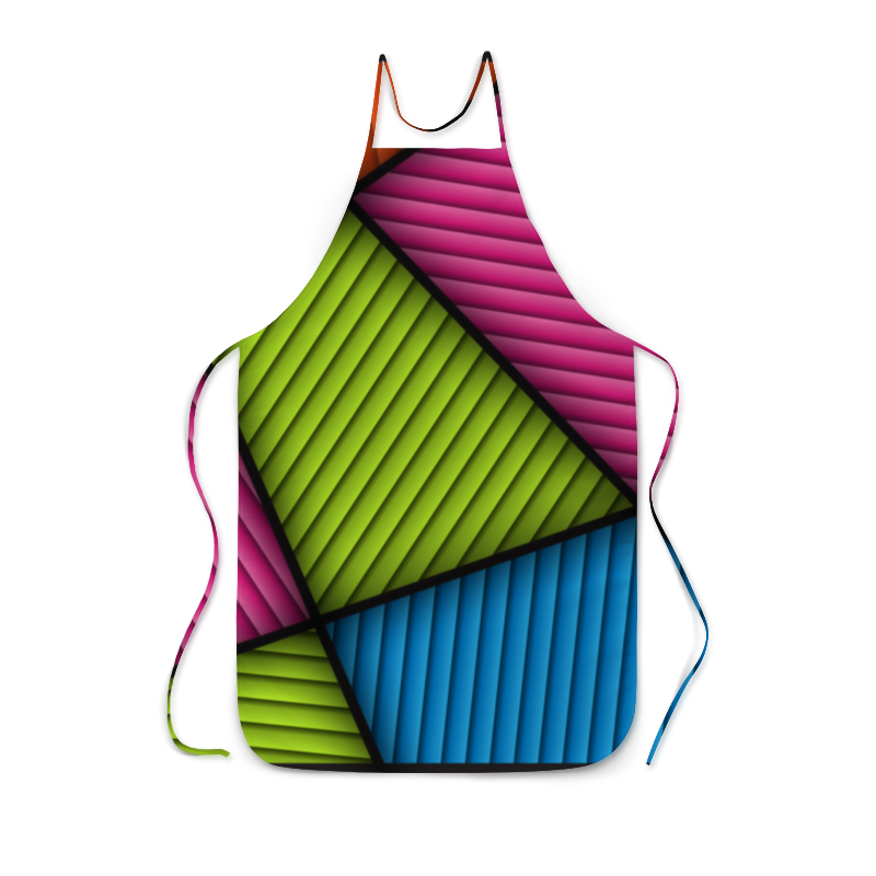 Фартук с полной запечаткой Printio Цветная абстракция фартук с полной запечаткой printio летняя абстракция