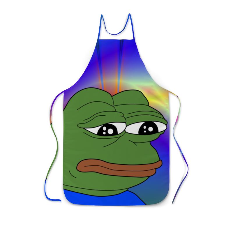 Фартук с полной запечаткой Printio Sad frog supra sad 2032w