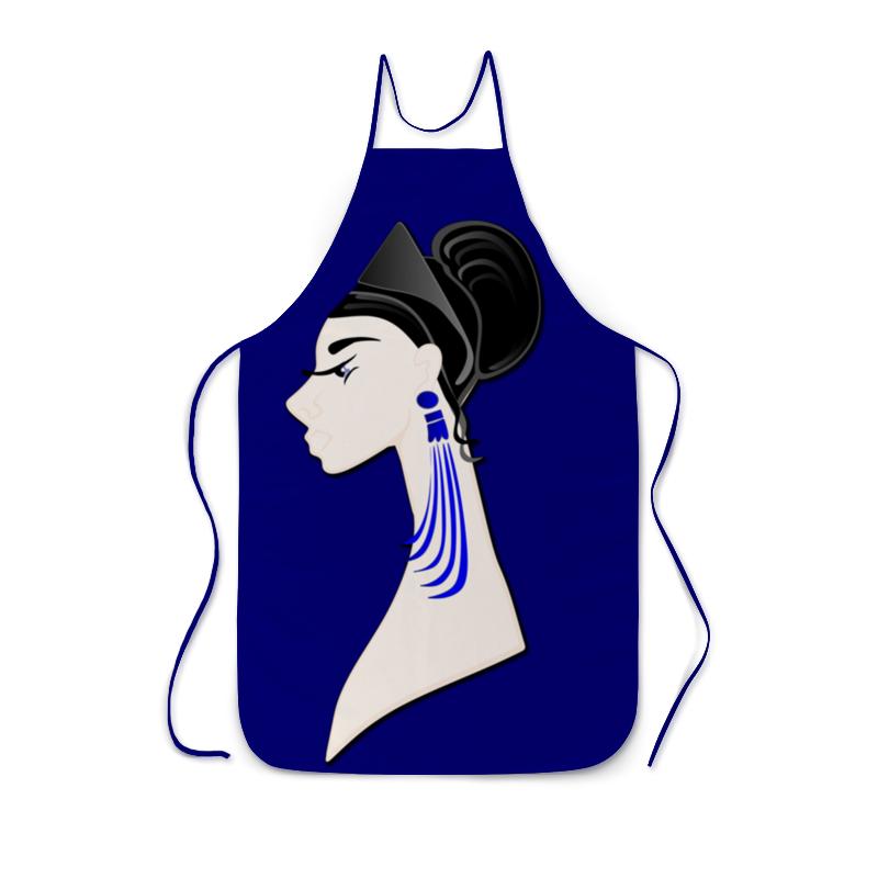 лучшая цена Printio Девушка в синих сережках