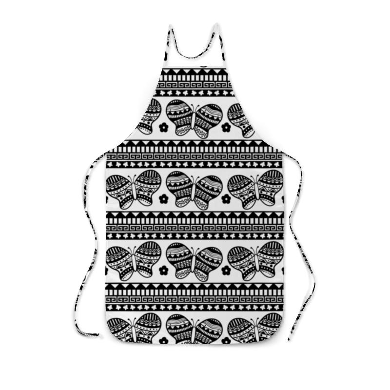 Фартук с полной запечаткой Printio Бабочки фартук с полной запечаткой printio домашняя кухня с полной запечаткой