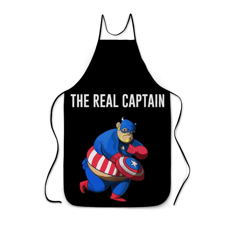 Фартук с полной запечаткой Printio Капитан америка игровой набор avengers капитан америка противостояние с 2 фигурками