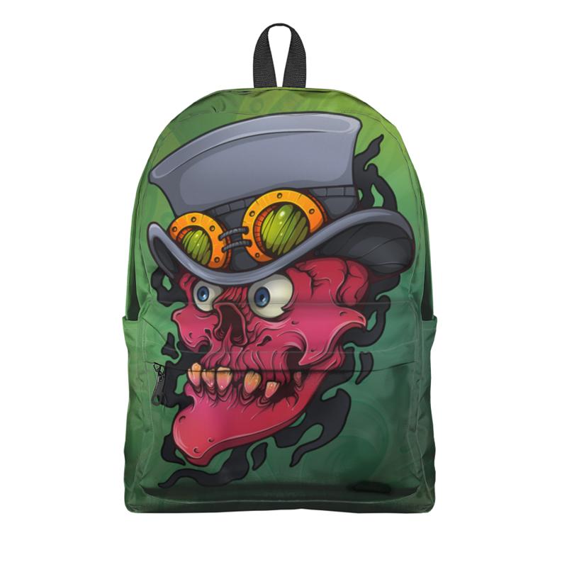 Рюкзак 3D Printio Череп в шляпе рюкзак 3d bags луна 3dbc490 в ассортименте