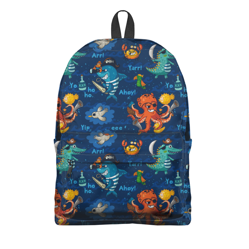 Рюкзак 3D Printio Пират рюкзак 3d bags луна 3dbc490 в ассортименте