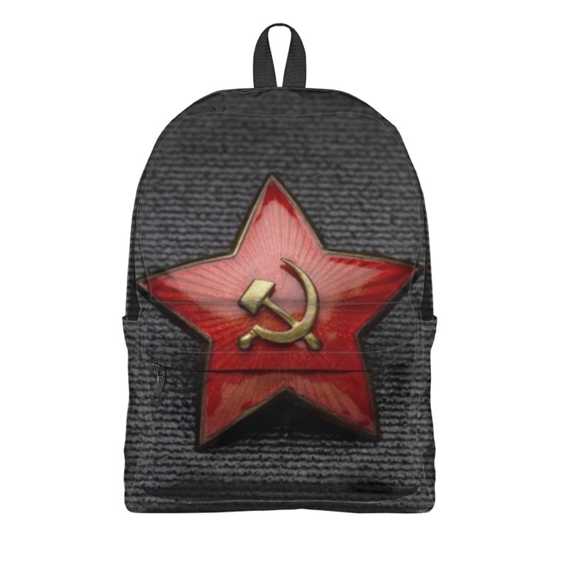 Printio Красная звезда серп и молот н черников наша красная звезда