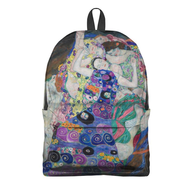 Рюкзак 3D Printio Дева (невинность) (густав климт) кружка printio враждебные силы густав климт