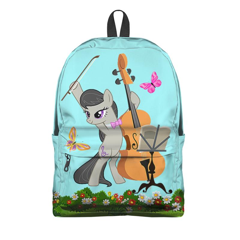 Рюкзак 3D Printio Маленький пони. мультсериал сумка с полной запечаткой printio маленький пони мультсериал