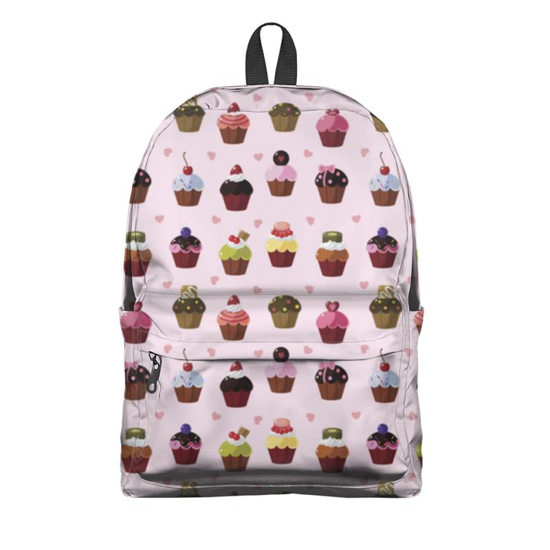 Рюкзак 3D Printio Кексы, пирожные фруктовница 2 уровня кексы