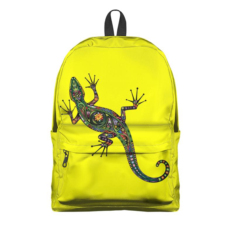 Рюкзак 3D Printio Ящерица