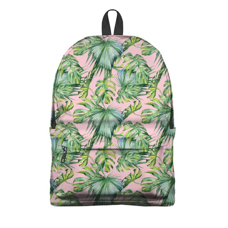 Рюкзак 3D Printio Тропические пальмы