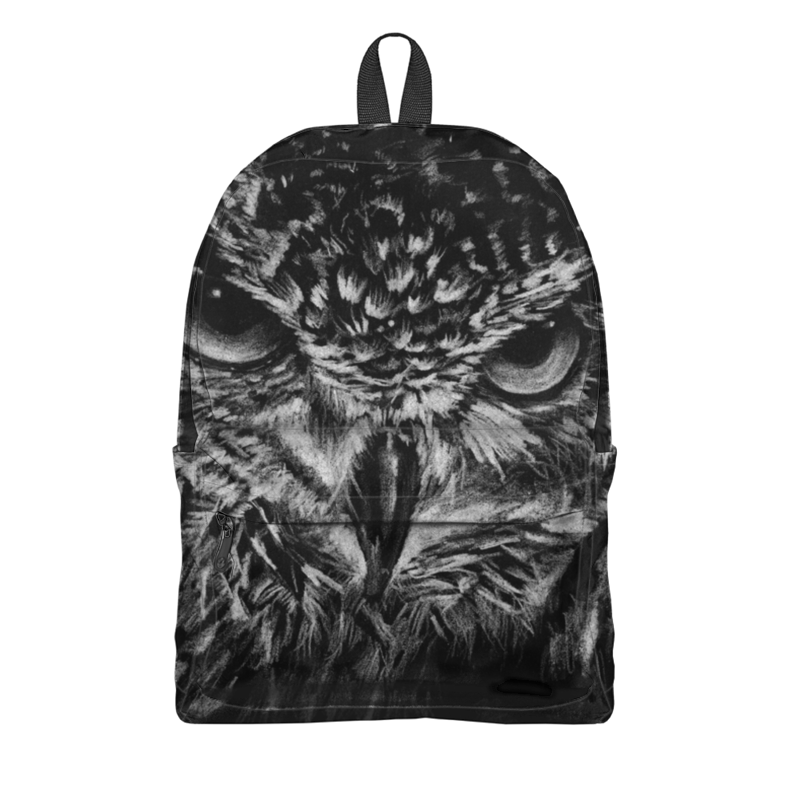 Printio Черно-белая сова schreiber рюкзак сова