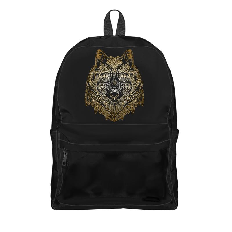 Рюкзак 3D Printio Голова волка