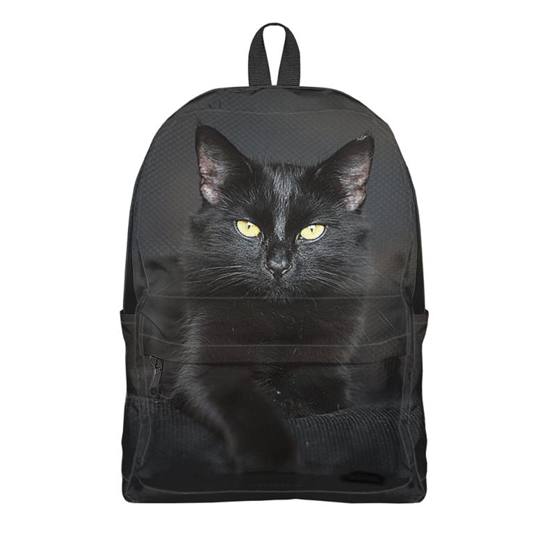Фото - Рюкзак 3D Printio Черная кошка 2020 черная кошка 25х50 20 полотенце 7 я