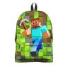 """Рюкзак 3D """"Minecraft"""" - компьютерные игры, майнкрафт, приключение, игроманам, строителям"""