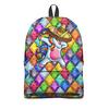"""Рюкзак 3D """"Unicorn"""" - лошадка, алмазы, единорог, драгоценные камни, модникам"""