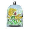 """Рюкзак 3D """"Влюбленные рыбки"""" - любовь, цветок, подарок, золотая рыбка, рыбка-конек"""