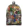 """Рюкзак 3D """"Пазла"""" - узоры, школа, рюкзак, портфель, ранец"""