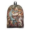 "Рюкзак 3D ""Ад (Божественная комедия)"" - картина, данте, змей, фреска, кох"