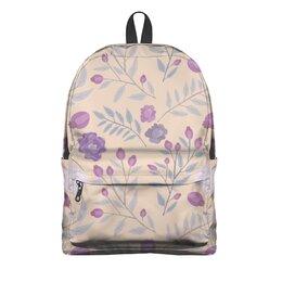 """Рюкзак 3D """"цветы"""" - лето, цветы, узор, природа, цветочки"""