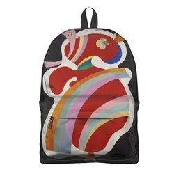 """Рюкзак 3D """"Картина (Василий Кандинский)"""" - картина, живопись, абстракционизм, кандинский, синий всадник"""