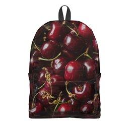 """Рюкзак 3D """"Лето!"""" - лето, ягода, вишня, черешня, сладкая ягода"""