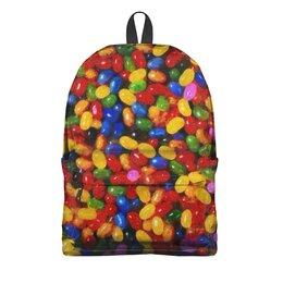 "Рюкзак 3D ""Леденцы"" - стиль, яркий, конфета, леденец, моне"