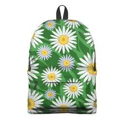 """Рюкзак 3D """"РОМАШКА"""" - арт, цветы, стиль, красота, природа"""