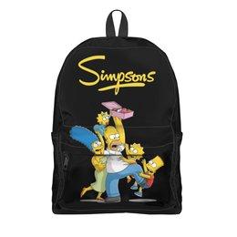 """Рюкзак 3D """"Симпсоны"""" - симпсоны, мульт, the simpsons"""