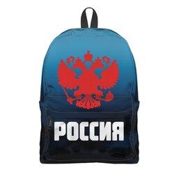 "Рюкзак 3D ""Россия"" - россия, герб, russia, орел, флаг"