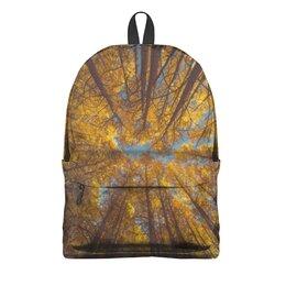 """Рюкзак 3D """"Осень"""" - осень, учеба, школьники, школьная пора, снова в школу"""