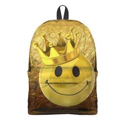 """Рюкзак 3D """"На золотом крыльце сидели."""" - царь, король, смайлик, королевич, царевич"""